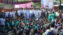 KCR Meet in DL Nagar