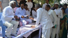 KCR received petiions from public (4)