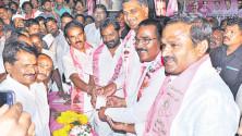 Harish Rao Launching of Party Memebership drive