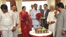 KCR-birthday-celebrations-in-Rajbhavan,-Mumbai01