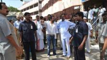KCR visit to Yadagirigutta temple04