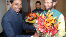 KCR-with-Minister-for-forests-and-Environment-Prakash-Javadekar