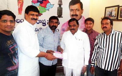Mainampalli Hanmantha Rao in Membership drive