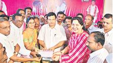 Membership drive in Kothagudem