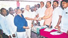 Mla Vinay Bhaskar Launching of Membership drive in warangal