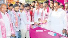 Nethi vidyasagar Launchig of Membership drive in Nalgonda
