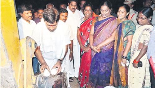 MP Vinod participated in Mission Kakatiya programme
