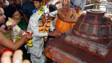 KCR attendeed Sitharamula Kalyanam in Bhadrachalam07