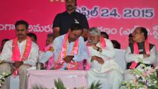 KCR in Party plenary meeting (13)