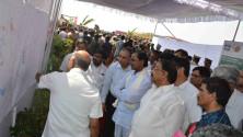 KCR laid Foundation Stone for Bhadradhri Power Plant