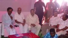 KCR laid Foundation Stone for Bhadradhri Power Plant01
