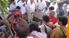 KCR laid Foundation Stone for Bhadradhri Power Plant03