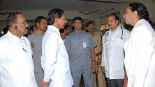 KCR visit to Fever Hospital (10)