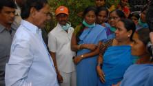 KCR visit to Fever Hospital (2)