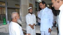 KCR visit to Fever Hospital (3)