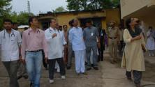 KCR visit to Fever Hospital (4)