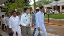 KCR visit to Fever Hospital (5)