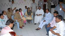 KCR visit to Fever Hospital (6)
