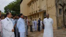 KCR visit to Fever Hospital (7)