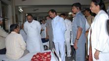 KCR visit to Fever Hospital (8)