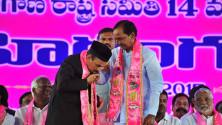 TRS Vijayagarjana Public Meet in Parade Grounds (1)