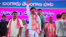 TRS Vijayagarjana Public Meet in Parade Grounds (10)