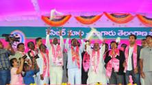 TRS Vijayagarjana Public Meet in Parade Grounds (11)