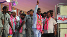 TRS Vijayagarjana Public Meet in Parade Grounds (15)