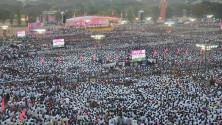 TRS Vijayagarjana Public Meet in Parade Grounds (4)