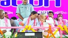 TRS Vijayagarjana Public Meet in Parade Grounds (7)