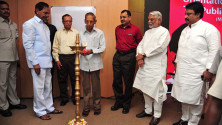 CM KCR in Interactive orientaion programme in Nagarjunasagar (11)