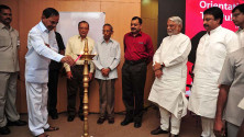 CM KCR in Interactive orientaion programme in Nagarjunasagar (12)