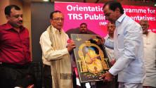 CM KCR in Interactive orientaion programme in Nagarjunasagar (16)