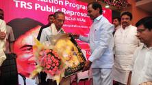 CM KCR in Interactive orientaion programme in Nagarjunasagar (17)