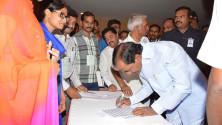 CM KCR in Interactive orientaion programme in Nagarjunasagar (2)
