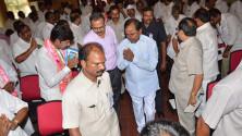 CM KCR in Interactive orientaion programme in Nagarjunasagar (3)