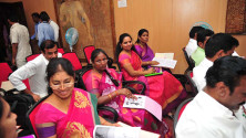 CM KCR in Interactive orientaion programme in Nagarjunasagar (7)