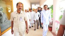 CM KCR in Interactive orientaion programme in Nagarjunasagar (8)