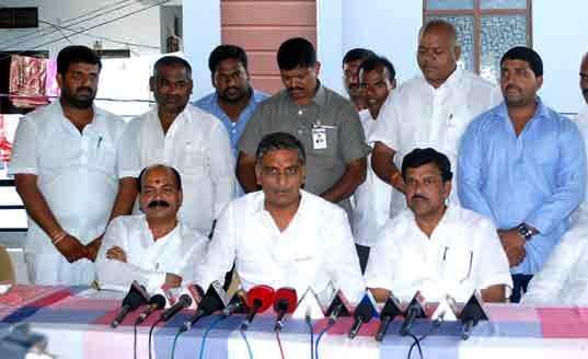Harish Rao Press Meet