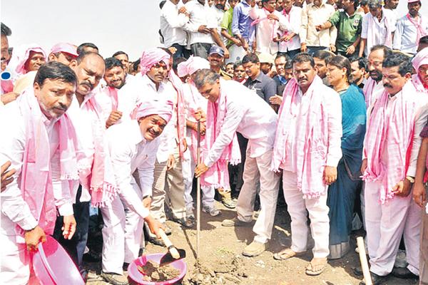 Harish Rao participated in Mission Kakatiya programme in Kamareddy