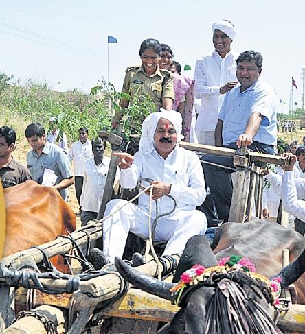Harish Rao takes part in mission Kakatiya programme
