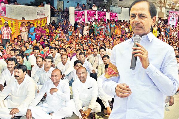 KCR in SWachh Hyderabad