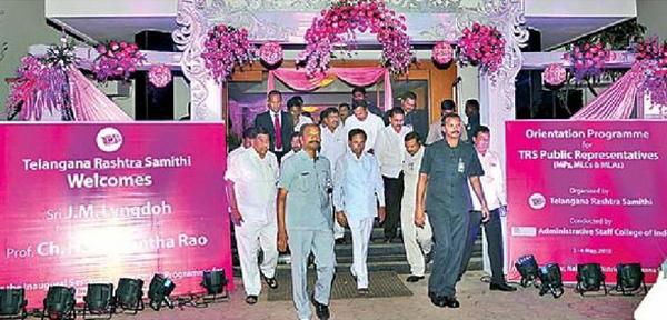 KCR visit to Nagarjunasagar