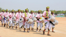 CM KCR in parade grounds on the occassion of Telangana formation day (13)