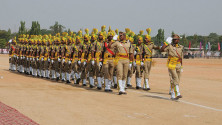 CM KCR in parade grounds on the occassion of Telangana formation day (14)