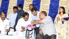 CM KCR in swach hyderabd programme in Parsigutta (1)