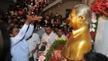 CM KCR paid floral tributes to Prof Jayashankar sir (5)