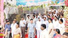 CM KCR visit to Vemulawada (10)