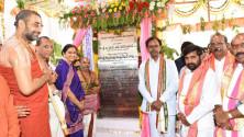 CM KCR visit yadgirigutta (2)