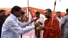 CM KCR visit yadgirigutta (5)